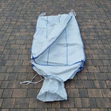 Worki Big Bag szeroka podstawa w kwadracie
